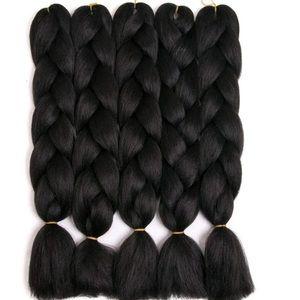 5 packs of Black braiding hair *NWT* 🖤🖤
